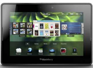 Blackberry Playbook : La nouvelle Tablette Tactile RIM sous Tablet OS 2