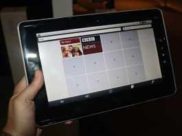 Test et avis complet Tablette tactile Toshiba Folio 100 1