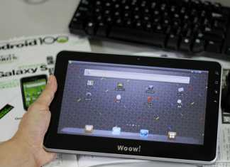 Woow Digital : The One tablette tactile Android 3.0 1