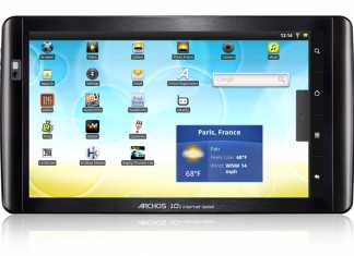 Test et avis Archos 101 Internet Tablet 1