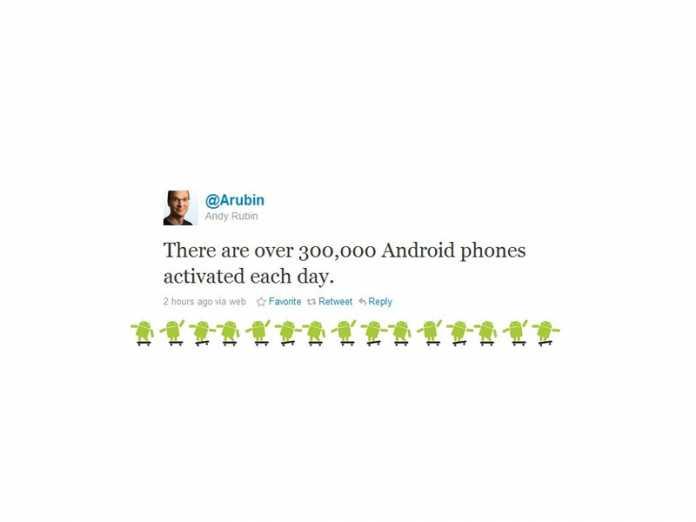 Google Android : 300 000 activations de l'OS par jour ! 3