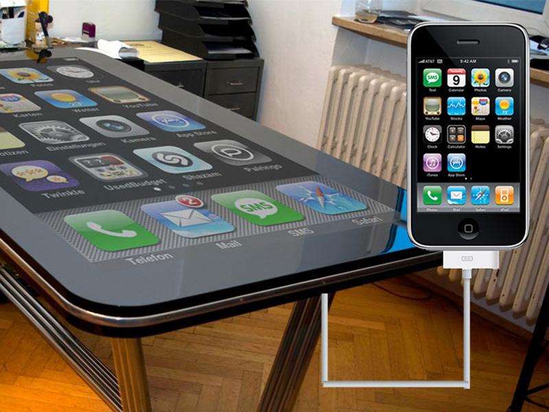 Table Tactile pour iPhone et iPad ?