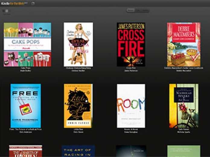 Librairie en ligne : Amazon Kindle for the web en réponse à Google eBooks 3