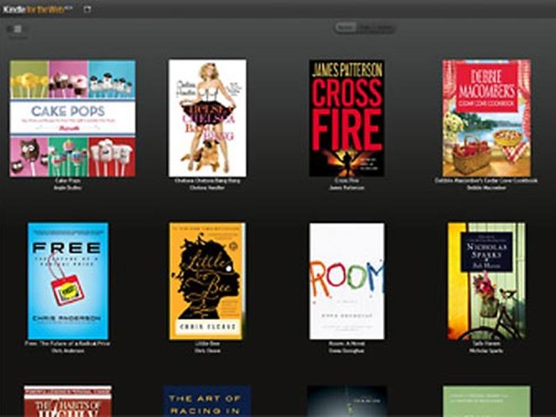 Librairie en ligne : Amazon Kindle for the web en réponse à Google eBooks