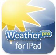 Application Météo pour iPad : Weather Pro for iPad