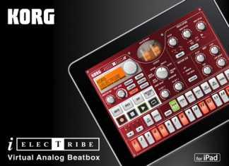 Application Musique pour iPad : Korg iELECTRIBE, la groove machine à modélisation analogique. 1