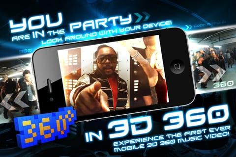 BEP 360 Une application iPad en réalité augmentée de The Black Eyed Peas