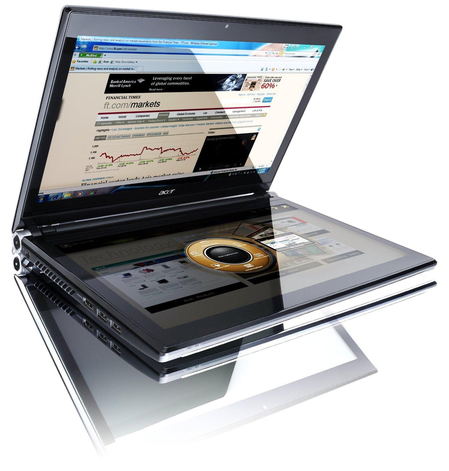 Acer lance 4 tablettes tactiles et un Ovni en 2011
