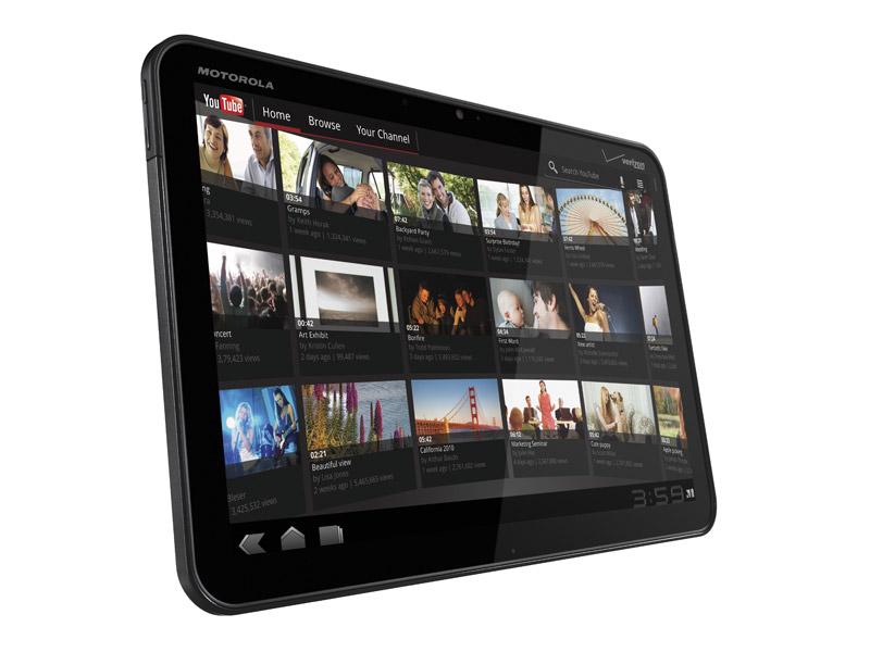 CES 2011 : la tablette tactile Motorola Xoom élue meilleur gadget