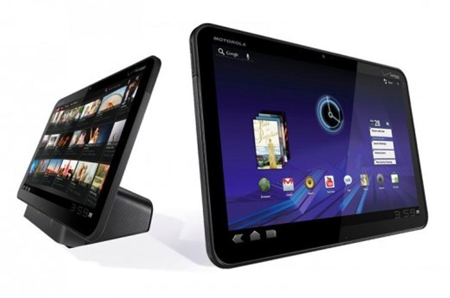 Accessoires Tablette Motorola Xoom : docks, clavier et étui