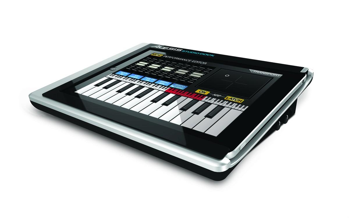 dock ipad alesis studiodock pro   la station audio hifi pour les musiciens
