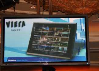 Tablette Panasonic Vieira dévoilée au CES 2011 2