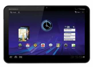 Tablette Motorola Xoom Android honeycomb est Officielle 6