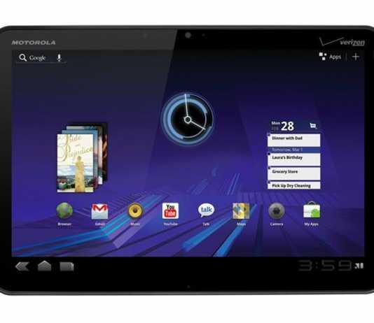 Tablette Motorola Xoom Android honeycomb est Officielle 6