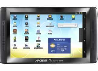 Archos 70 Internet Tablet : Fiche Technique Complète 1
