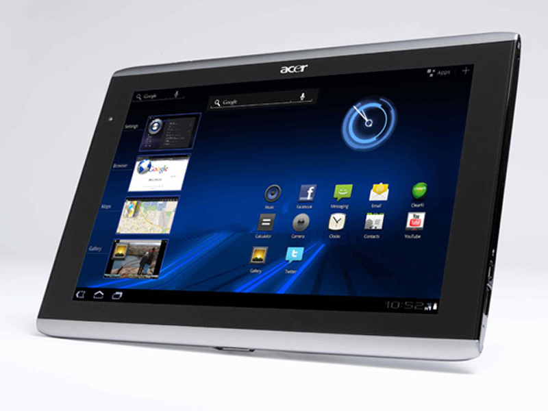 Acer Iconia Tab A500 : Fiche Technique Complète