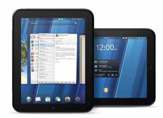 HP TouchPad : Fiche Technique Complète TouchPad 1