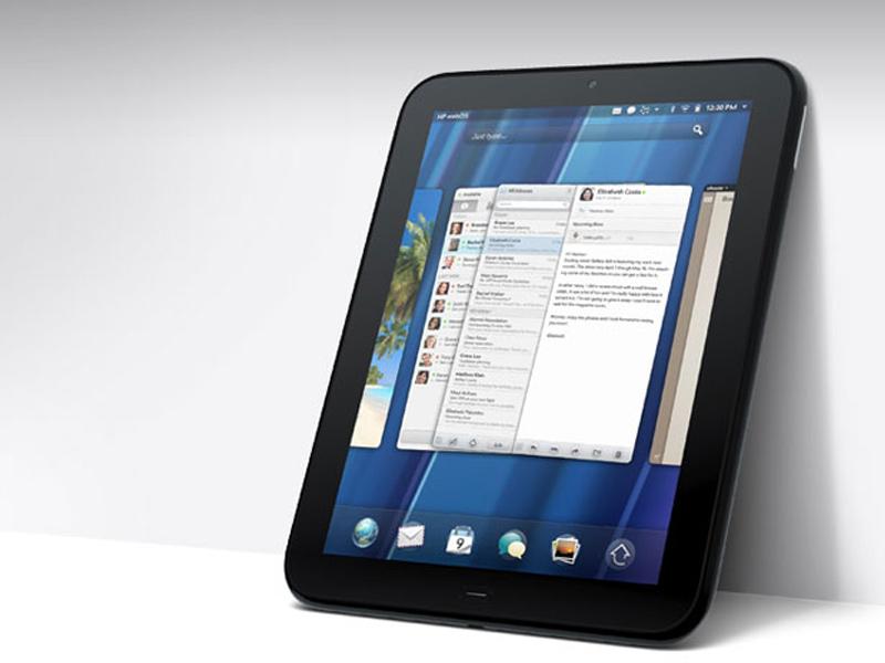 HP Travaille sur une tablette équipée d'Android