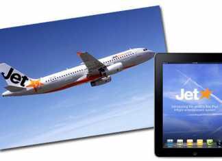 Louer une tablette tactile iPad 10$ dans l'avion ?  1