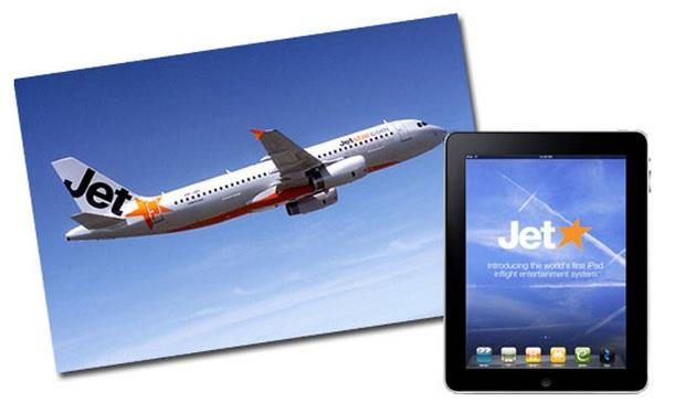 Louer une tablette tactile iPad 10$ dans l'avion ?