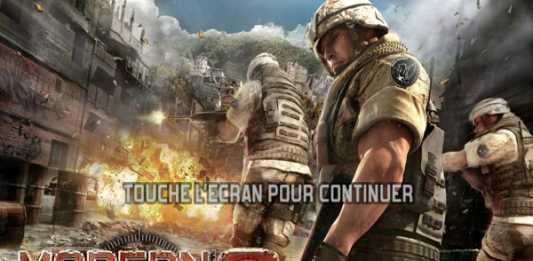 "Modern Combat 2 Black Pegasus HD, le ""Call of Duty"" pour iPad 1"