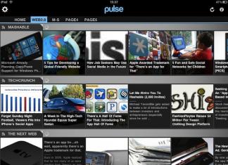 Pulse News Reader 2.0 : lire sur iPad vos journaux et magazines préferés