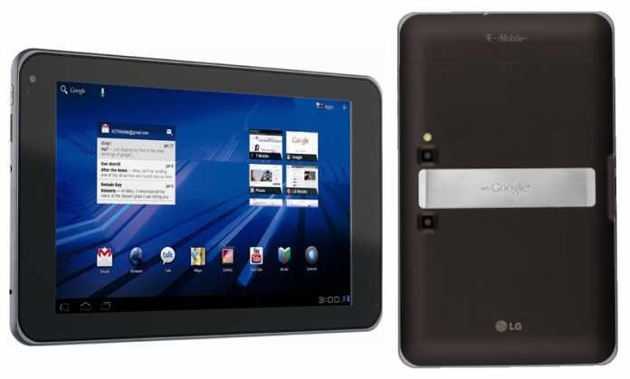 LG Optimus Pad : Fiche Technique Complète 2