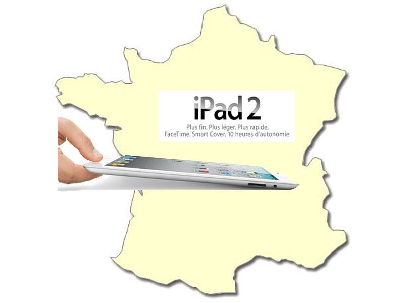 Achat/Vente Apple iPad 2 en France : Prix iPad 2 dès 489€ TTC