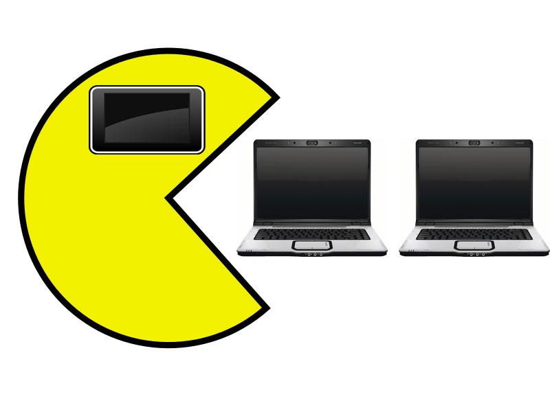 Le marché des PC en forte baisse, la faute aux tablettes tactiles ?