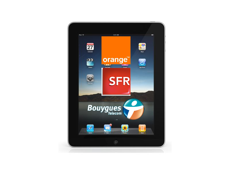 abonnement ipad 3g forfait tablette. Black Bedroom Furniture Sets. Home Design Ideas