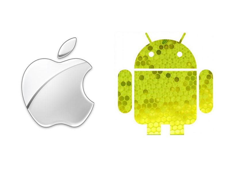Apple iOS 4.3 VS Google Android 3.0 HoneyComb