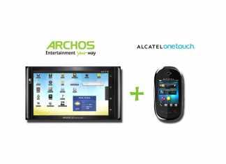 """Archos et Alcatel One Touch lancent une offre """"tablette et téléphonie"""""""