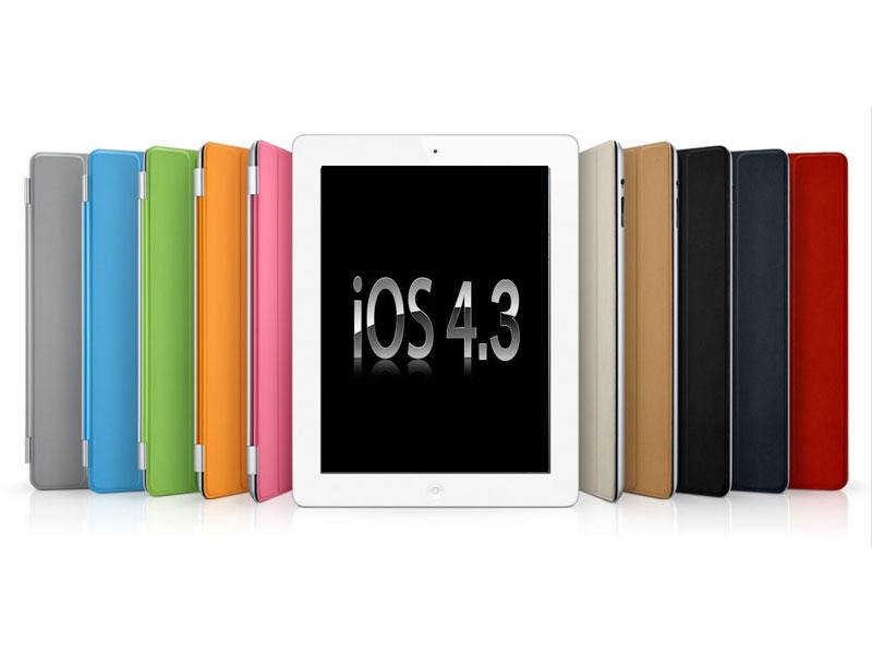 Apple iOS 4.3 pour iPad et iPad 2 : mise à jour disponible