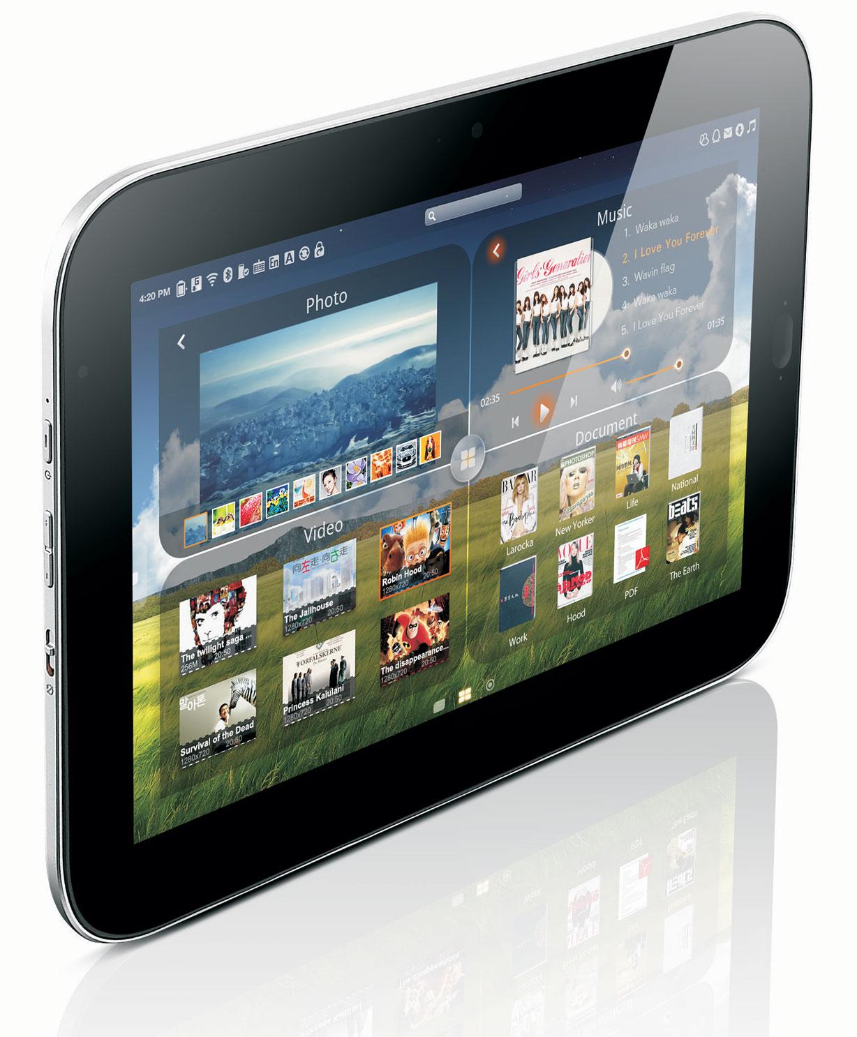 CES 2011 Tablette PC Tactile : Lenovo présente 'LePad' et investit le marché des tablettes
