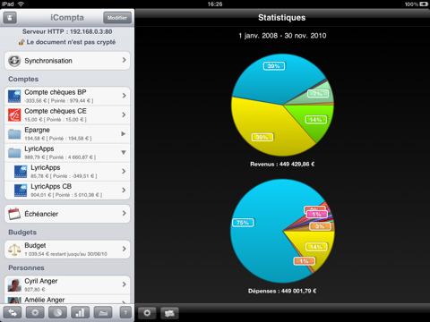 Gérer vos comptes facilement avec iCompta 2 sur iPad 4