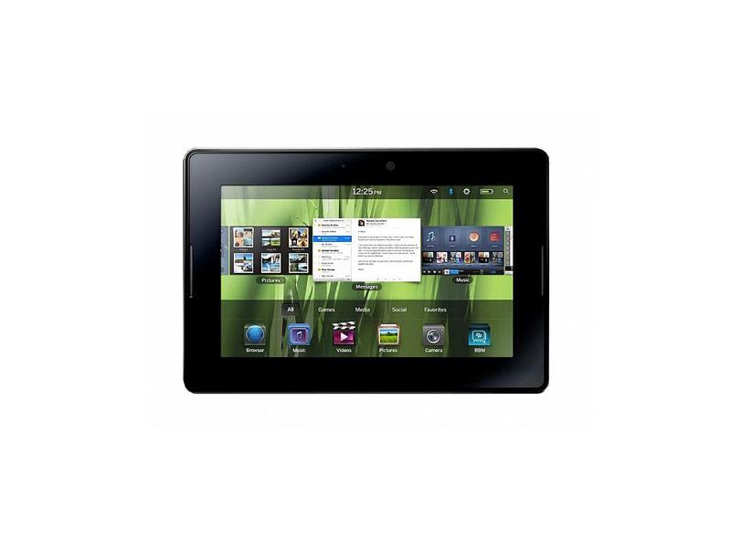 Première vidéo du Blackberry app world pour la tablette PlayBook