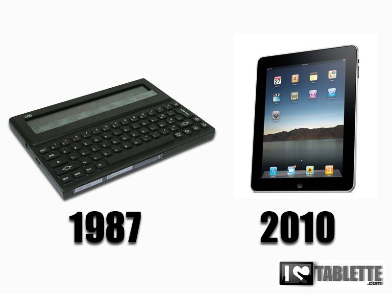 Tablette tactile: une histoire qui ne date pas d'hier! 2