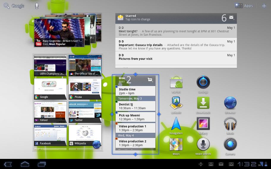 Android 3.1 Honeycomb : première mise à jour majeure de l'OS pour tablettes 4