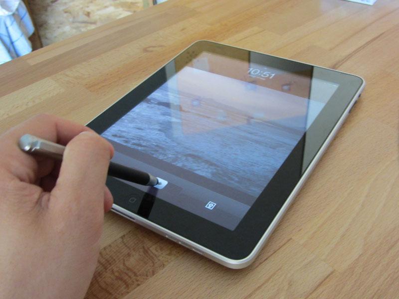 Test du stylet pour iPad Bamboo Stylus 4