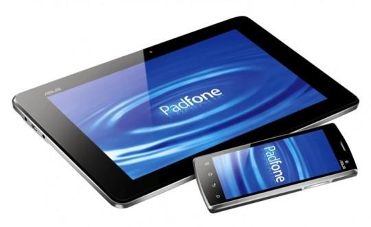 La Asus Padfone est officielle : tablette avec smartphone intégré 1