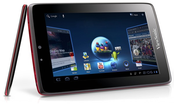 ViewPad 7x sous Android HoneyComb : Viewsonic confirme sa tablette 7 pouces 2