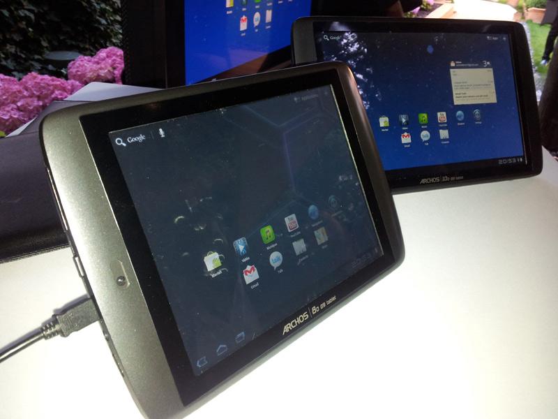 Archos 80 G9 : fiche technique complète tablette Archos 8 pouces 2