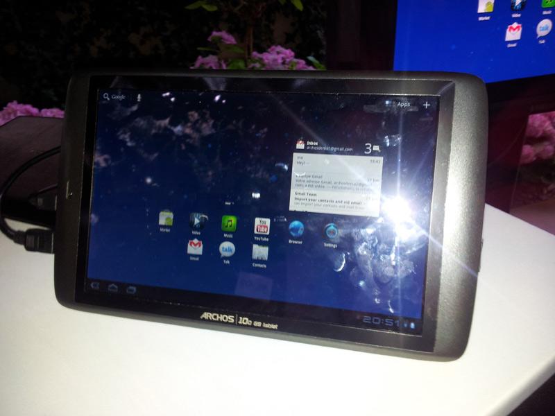 Photo et vidéo de la nouvelle gamme Archos Gen9 : Archos 80 et Archos 101 7