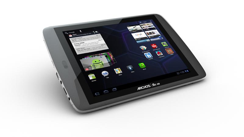 Archos 80 G9 : fiche technique complète tablette Archos 8 pouces 4