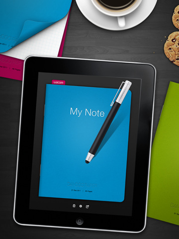 Bamboo Paper : Wacom propose une application de prise de notes pour iPad 1