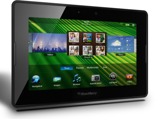 Achat/Vente BlackBerry PlayBook en France : Prix PlayBook dès 499€ TTC