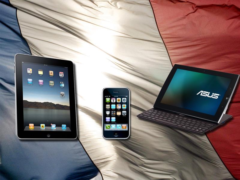 Marché des tablettes et smartphones en France, il ne reste rien pour les autres