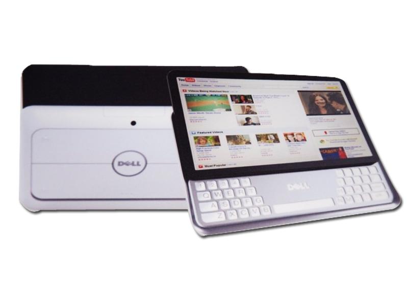 un prototype de tablette 7 pouces avec clavier coulissant chez dell. Black Bedroom Furniture Sets. Home Design Ideas