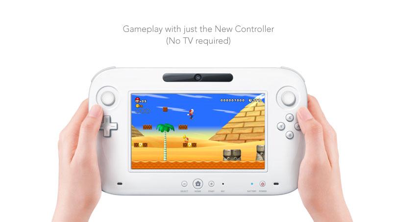 Une tablette tactile pour la manette de contrôle Wii U de Nintendo ! 9