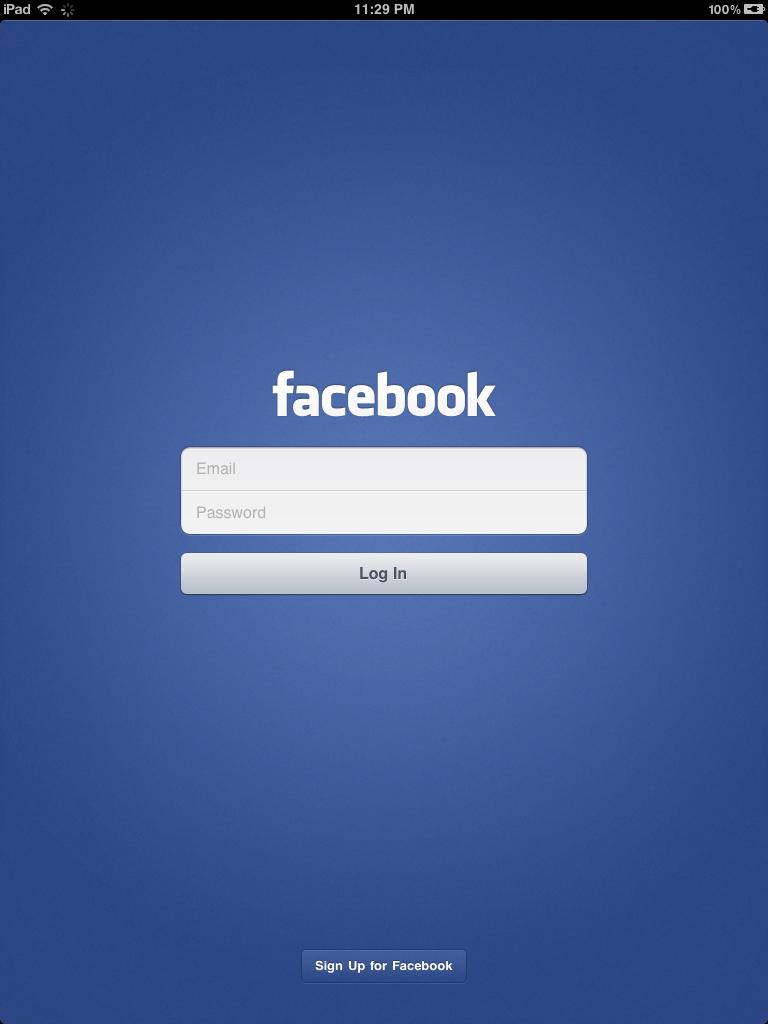 Facebook pour iPad : l'application existe déjà et est cachée dans la version iPhone !